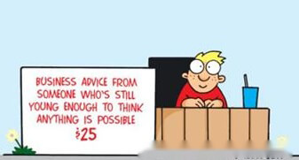双语笑话 第112期:大范围的商务咨询